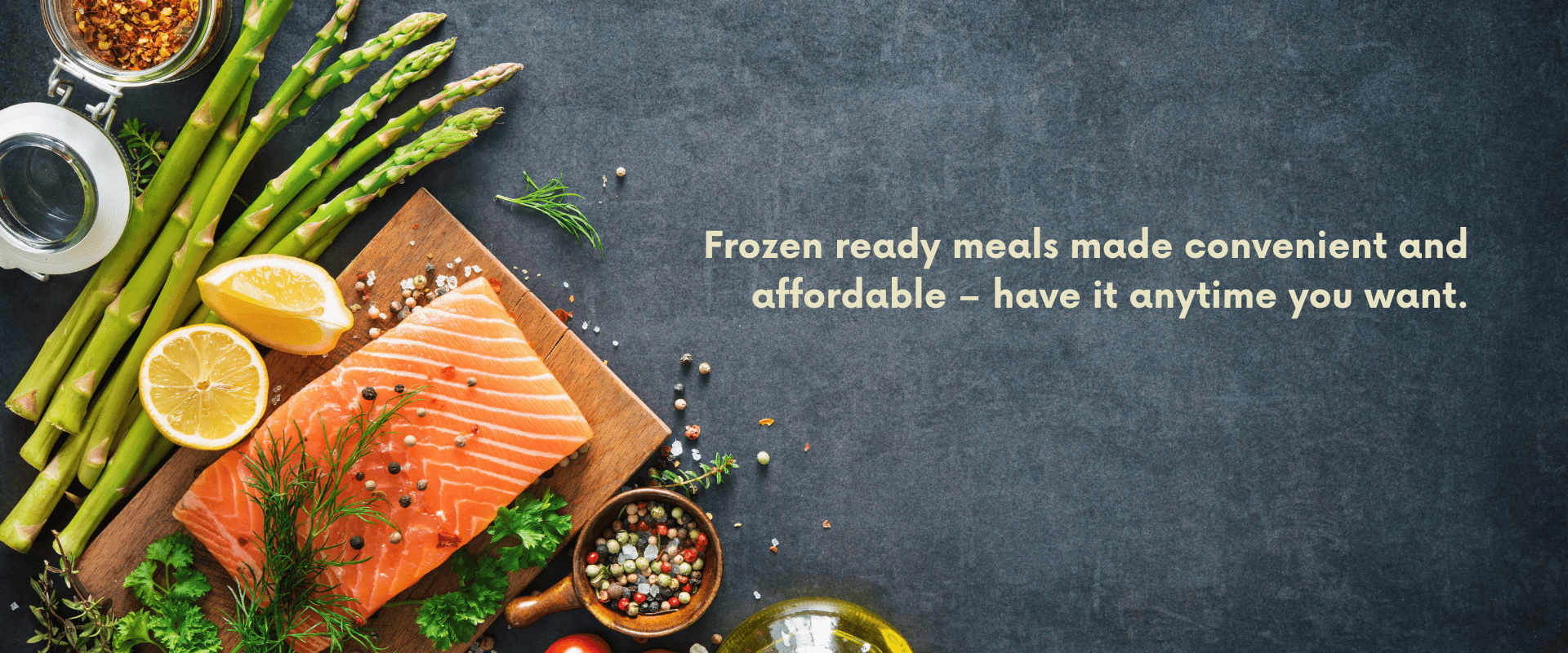 frozen meals homepage