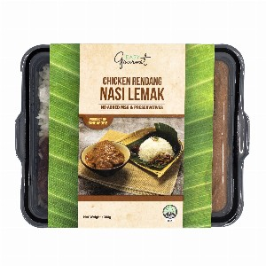 Chicken Rendang Nasi Lemak (Frozen)