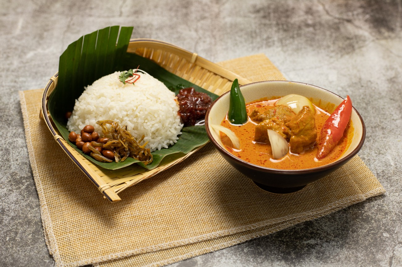Curry Fish Nasi Lemak (Frozen)