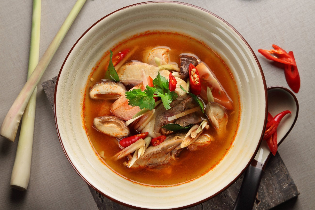 Tom Yum Seafood Bee Hoon Soup (Frozen)